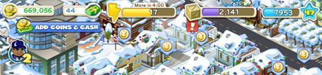 Cityville 669.000 coins